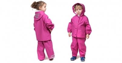 Особенности выбора детской непромокаемой одежды