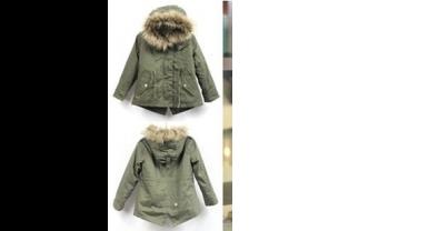 Детская куртка-парка возвращение