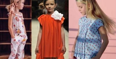 Модные цвета весны 2016 в детской одежде