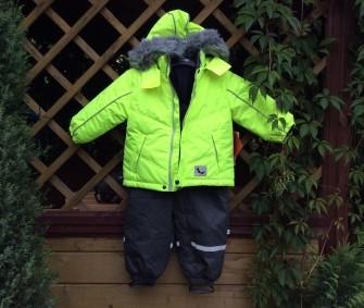 Foxi, куртка зимняя лимонная