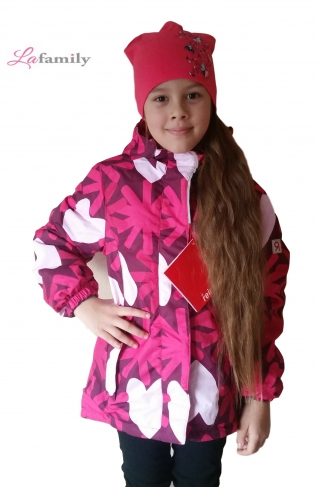 Jie Reimo, куртка для девочки Pink Flower