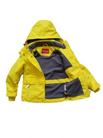 Jie Reimo, куртка- парка  демисезонная для мальчика Yellow