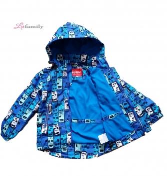 Jie Reimo, куртка  для мальчика на флисе Car