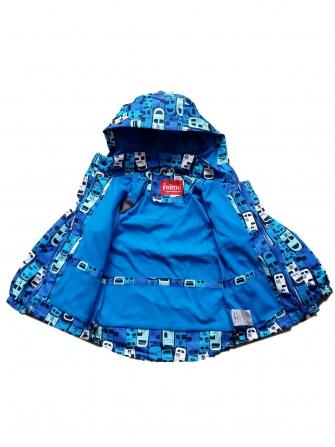 Куртка  для мальчика на флисе Car