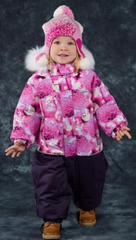 Lenne, зимний комбинезон для девочки Fun 17309-1280