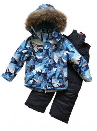 "Комплект зимний для мальчика ""Blue"""