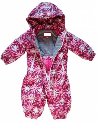 Комбинезон демисезонный  Snowflake Pink