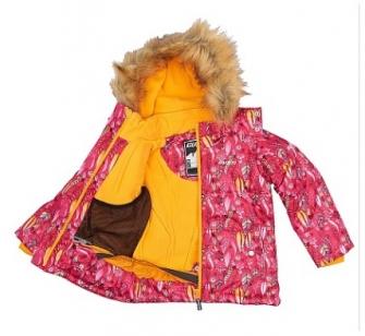 Gusti, зимний комплект для девочки GWG 4506-PINK