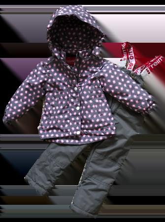 Jie Reimo, комплект демисезонный для девочки розовый