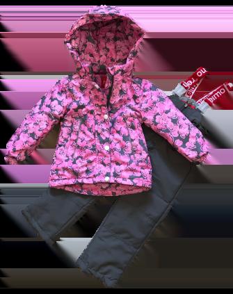 Jie Reimo, комплект демисезонный для девочки Pink