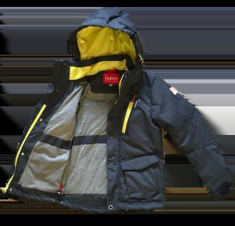 Jie Reimo, куртка- парка  демисезонная для мальчика Navy/Lime