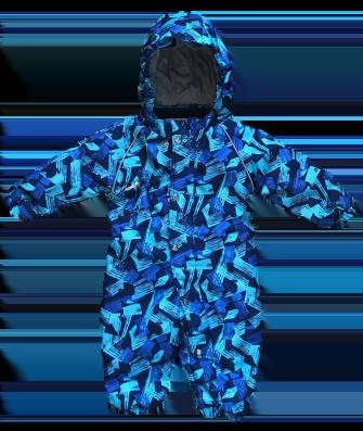 """Super Gift, комбинезон демисезонный """"Blue """""""