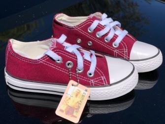 Converse, кеды детские бордовые