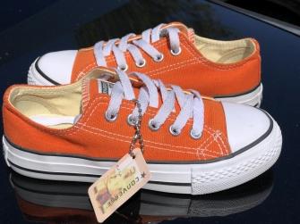 Converse, кеды детские оранжевые