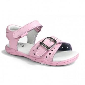 Pediped, сандалии Maggie Mid Pink