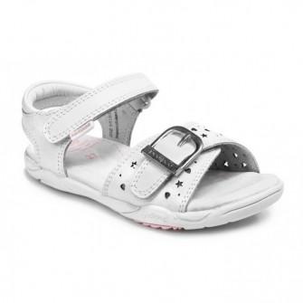 Pediped, сандалии Maggie Mid White