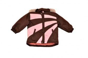 Foxi, куртка зимняя для девочки Stripe