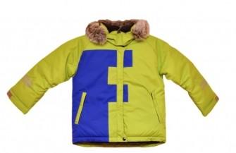 Foxi, куртка зимняя для мальчика FF, цвет-зеленый
