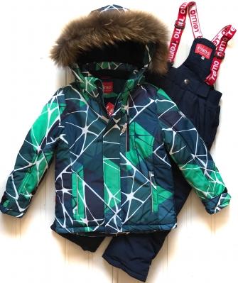 """Jie Reimo,комплект зимний для мальчика """"green/black """""""