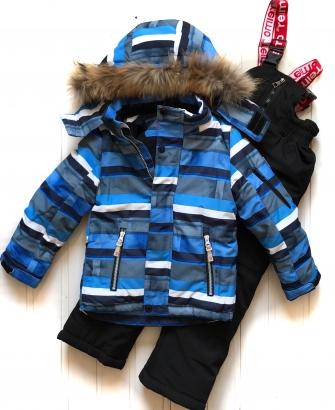 """Jie Reimo, комплект зимний для мальчика """"Blue"""""""