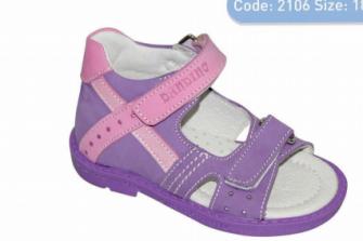 Dandino, сандалии для девочки 2106-05