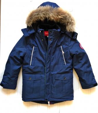 Jie Reimo, куртка зимняя для мальчика ( синий)