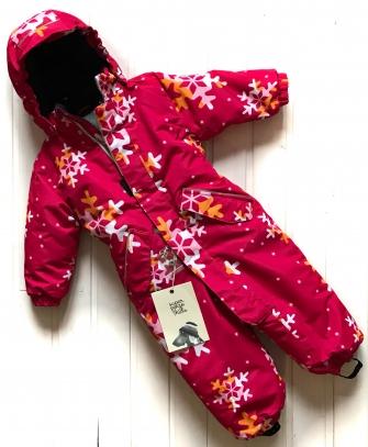 Super POGO Tec, комбинезон зимний  ( Snowflake pink)