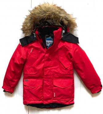 Super Pogo Tec, куртка- парка для мальчика (красный)