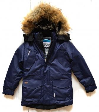 Super Pogo Tec, куртка- парка для мальчика (синий)