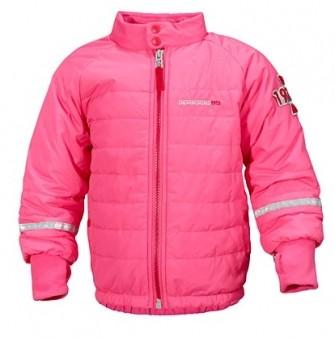 Didriksons, куртка Puffy 500229-304, цвет -фламинго