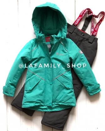 Jie Reimo, комплект демисезонный (с удлиненной курткой)  Н616 цвет  мятный
