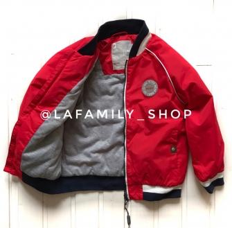 Super POGO, куртка (бомбер) для мальчика - красный