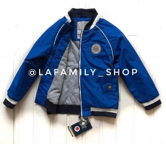 Super POGO, куртка (бомбер) для мальчика - синий