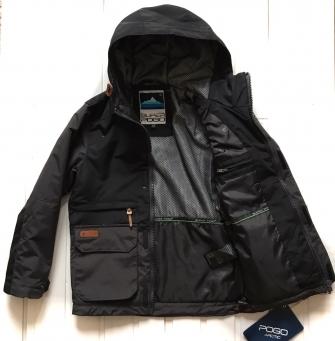 Super Pogo, куртка- парка  демисезонная для мальчика Black