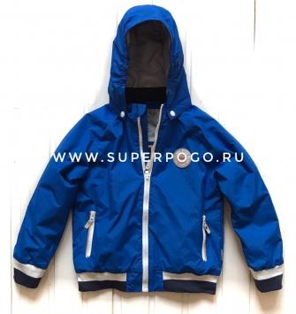 Super POGO, куртка  для мальчика - цвет  голубой