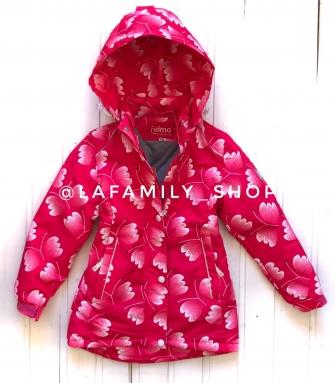 Jie Reimo, пальто демисезонное Pink flowers