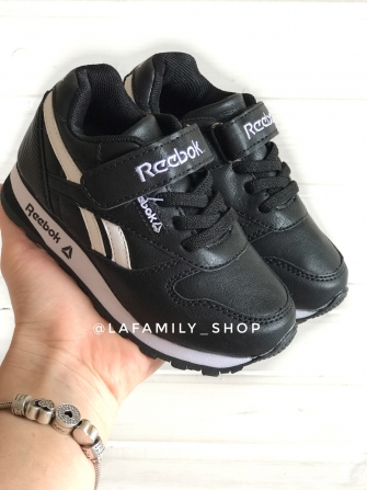 Rb, кроссовки детские цвет -(черный)