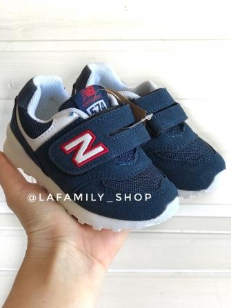 NB, кроссовки детские на сетке ,   цвет - (синий)