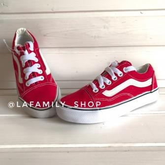 Vans, кеды детские (Red)