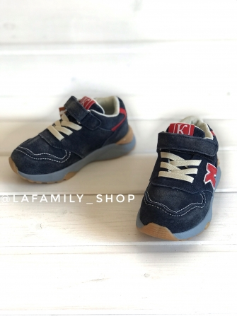 Капитошка, кроссовки для мальчика (синие)