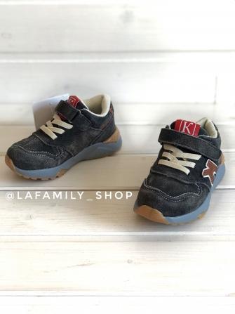 Капитошка, кроссовки для мальчика (серые)