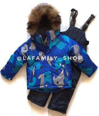 Mys, костюм зимний для мальчика (цвет голубой)