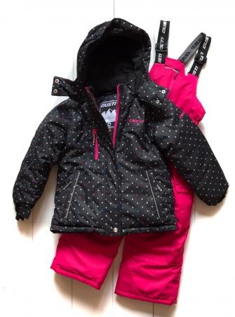 Gusti, зимний комплект для девочки GWG 3300-BLACK