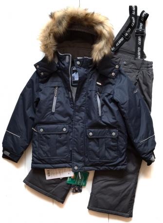 Gusti, зимний комплект для мальчика GWB 3314-NAVY