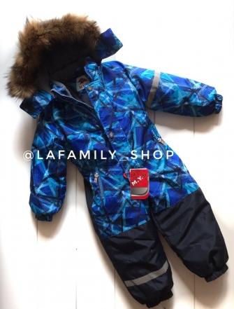 Mys, комбинезон зимний для мальчика ( цвет синий)