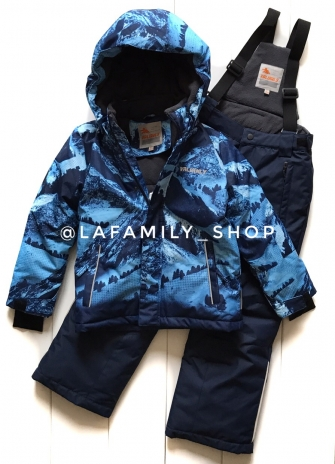 Valianly,  костюм зимний для мальчика (синий)