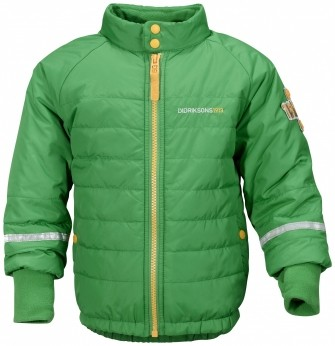 Didriksons, куртка Puffy 500229-260, цвет -сочно-зеленый