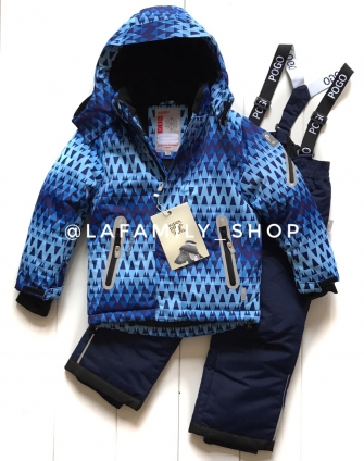 PogoKids, костюм зимний для девочки арт 88841 (синий)
