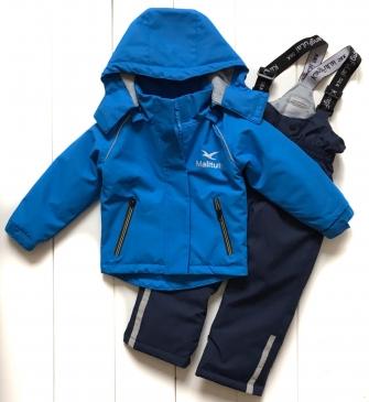 Malitutu, комплект  демисезонный для мальчика (голубой)