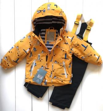 PogoKids, комплект  демисезонный для мальчика  (yellow )